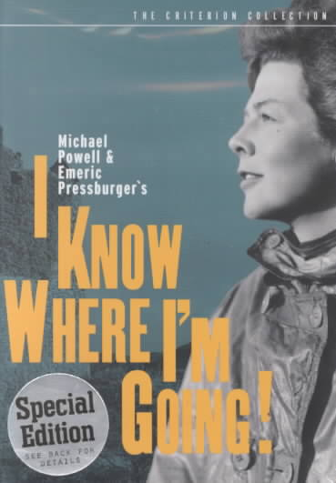 I KNOW WHERE I'M GOING! BY POWELL,MICHAEL (DVD)